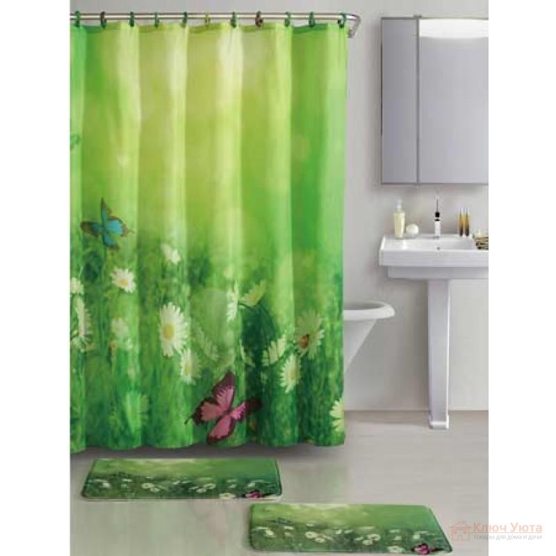 Купить шторы и коврики для ванной